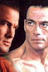 Van Damme and Seagal