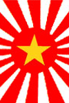 Socialist Flag of Japan