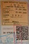japanese visa stamp