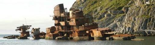 Soviet Murmansk Cruiser
