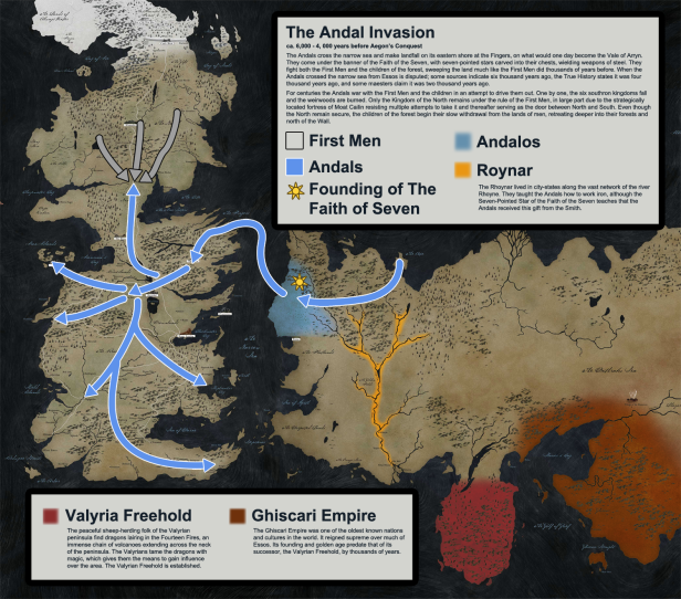 Game Of Thrones History Map 3
