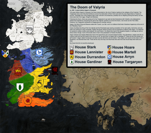 Game Of Thrones History Map 8
