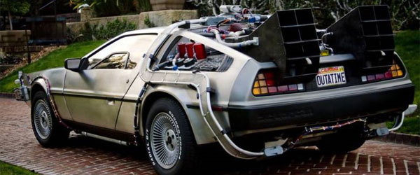 Back to the Future Delorean Time Machine s